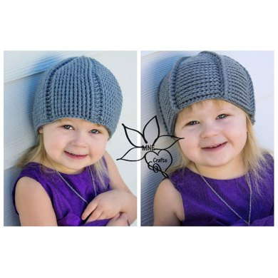 Reversible Star Crochet Beanie