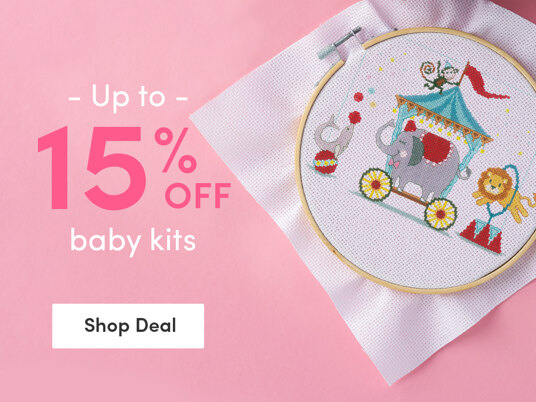 Up to 15 percent off baby kits!