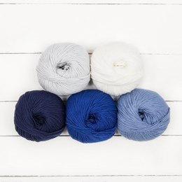 MillaMia Naturally Soft Merino Ombre 5 Ball Colour Pack