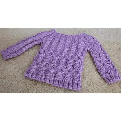 Dancing Cables Sweater