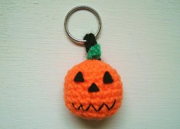 Pumpkin key chain