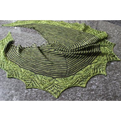 Cheshire Cat Shawl