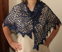 Starry Evening Shawl