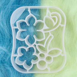 Clover Needle Felting  Mold - Floret & Berries