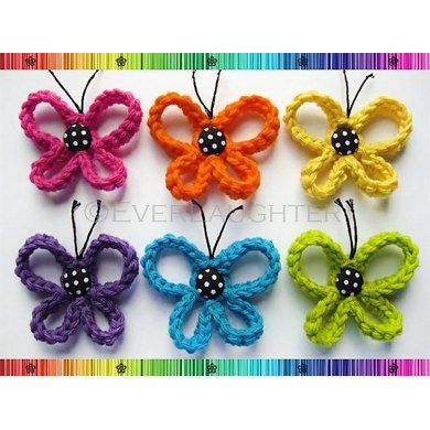 Loopy Butterfly Applique