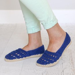 Seaside Slip-Ons - Shoes with Flip Flop Soles
