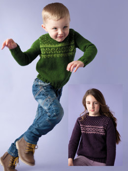 Austin Sweater and Tunic in Rowan Pure Wool Worsted