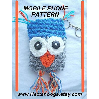 367, OWL MOBILE PHONE POUCH, CELL PHONE