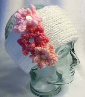 Delicate Flowers Headband