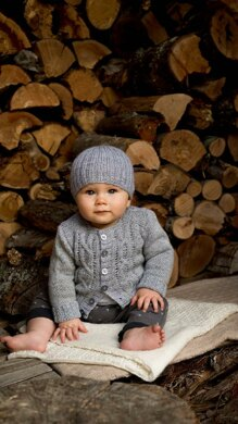Jasper Cardigan and Beanie - Bc55