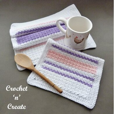 Tea Towel and Dishcloth