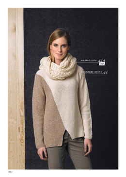 Sweater in Katia Cashmere Blend