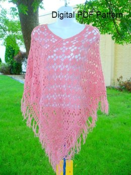 Two Rectangle Crochet Poncho