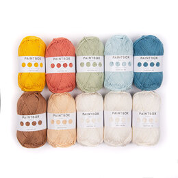 Paintbox Yarns Cotton DK 10er Farbset - Amigurumi Advent 2019