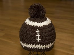 Football Adult Hat Pattern 7 in 1 Quick and Easy