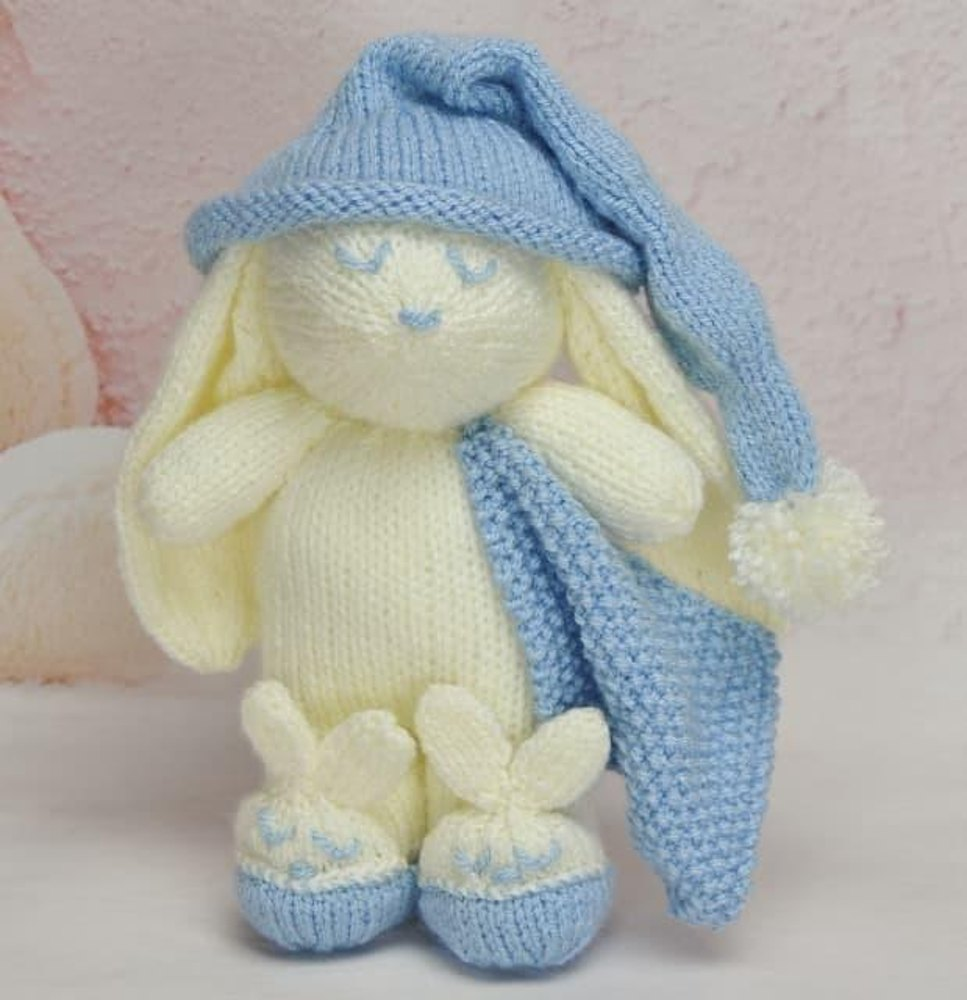 Knitting By Post Facebook : Winkie the bunny knitting pattern by post