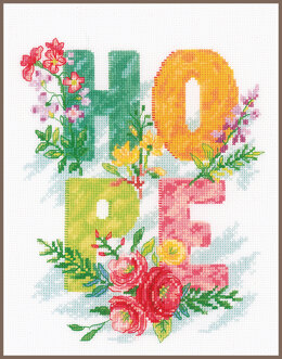 Vervaco Counted Cross Stitch Kit Hope