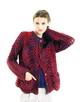 Jacke in Lamana Cusco Multicolor - M0411