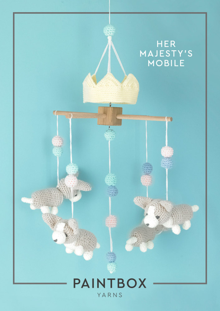 Her Majesty S Mobile In Paintbox Yarns Baby Dk