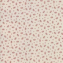 Moda Fabrics 3 Sisters Snowberry Snow Berry Floral Berries Red