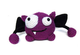 Taggle The Monster Toy in Ella Rae Classic Wool