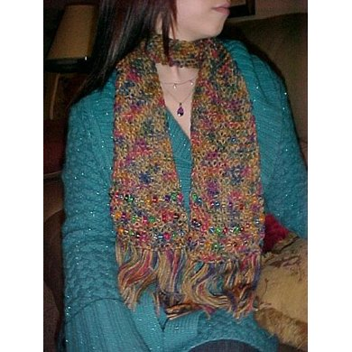 Make Your Own Beaded Scarf