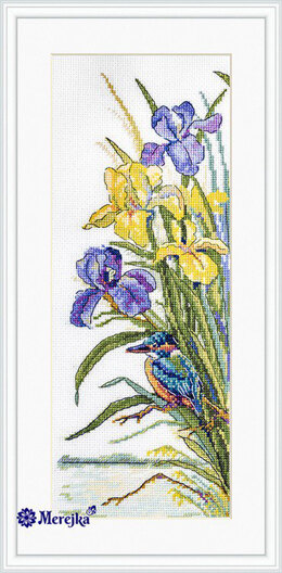 Merejka Kingfisher Cross Stitch Kit - Multi