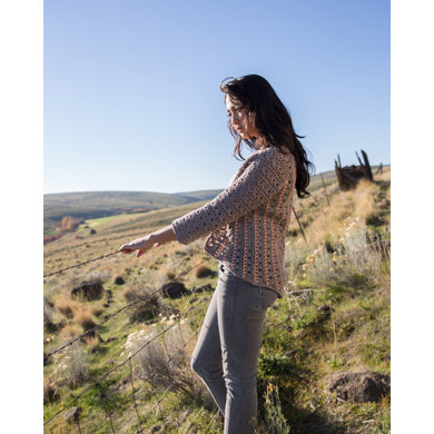 Crochet Evening Jacket in Imperial Yarn Columbia - PC28