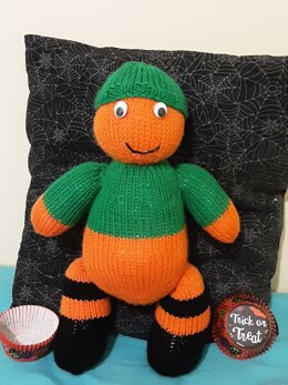 Cuddly Pumpkin Head Pattern