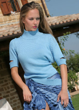 Wendy Pullover in Adriafil Nature