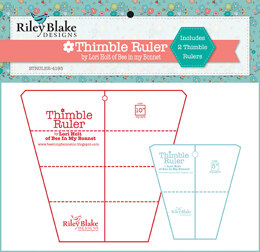 Riley Blake Thimble Rulers Set (5in & 10in)