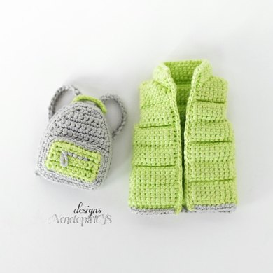 Vest and backpack