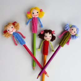 Dolly Pencil Topper