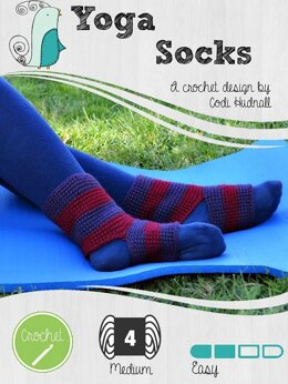 Crocheted Yoga Socks
