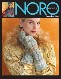 Fingerless Mitts in Noro Tennen - 15512 - Downloadable PDF