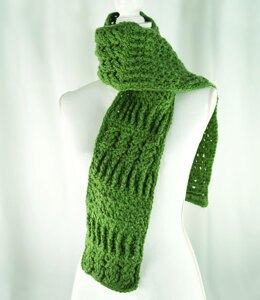 Sampler Scarf in Cascade Yarns Anthem Chunky - C358 - Downloadable PDF