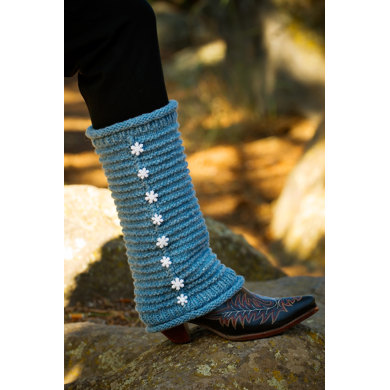 Cascade Leg Warmers in Imperial Yarn Columbia - P124 - Downloadable PDF
