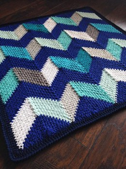 Beach Hut Blanket
