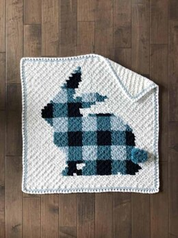 C2C Bunny Rabbit Blanket