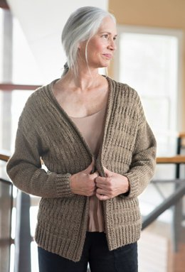 Marzen Cardigan in Berroco Ultra Wool DK - Downloadable PDF