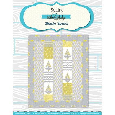 Riley Blake Sailing - Downloadable PDF