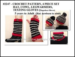 2247 - Striped Hat Set