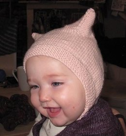 Heirloom Baby Bonnet - With Ears