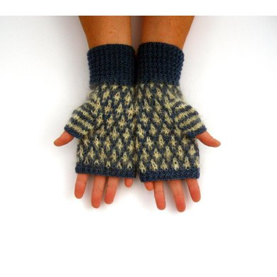 Mosaic Patterned Gloves