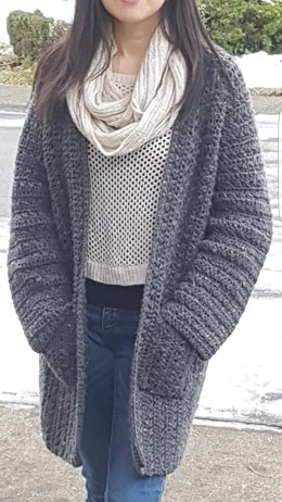 Easy Everywhere Collarless Cardigan