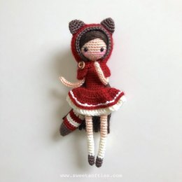 """Little Red Pandora"" the Red Panda Girl"