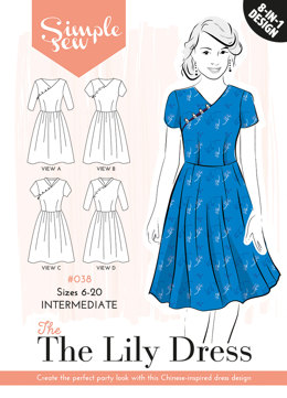 Simple Sew Patterns The Lily Dress #038 - Sewing Pattern