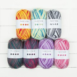 Paintbox Yarns Socks 7 Ball Colour Pack