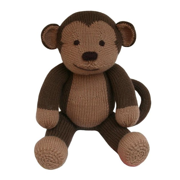 Monkey (Knit a Teddy) Knitting pattern by Knitables