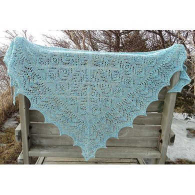 Iznik, I Heart You Shawl
